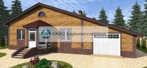 Любимый одноэтажный дом и его проект