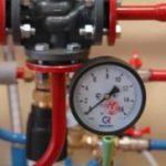 Установка промышленного прибора учета газа
