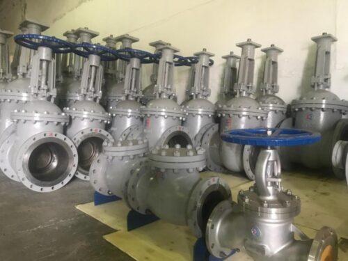 Этапы производства литых задвижек