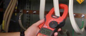 Измеряем силу тока и мощность