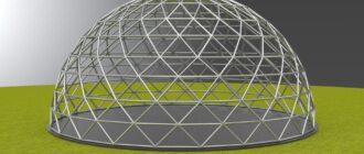 Геодезический купол: в чем его преимущество и эффективность?
