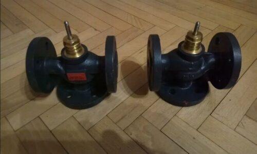 Седельный трехходовой клапан VF3