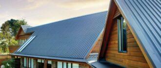 Крыша из профнастила - свойства и особенности использования