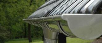Подходит ли нержавеющая сталь для водосточных систем?